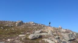 First challenge, Nattmålsfjellet south